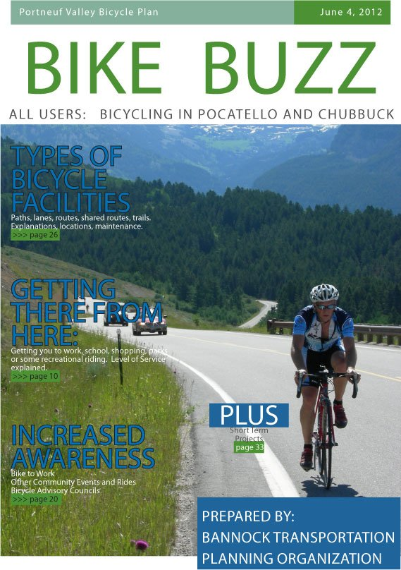 Bike Buzz - Portneuf Valley Bicycle Plan